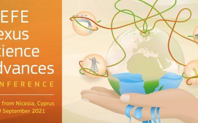 WEFE Nexus Science Advances Conference – 27-29 September 2021, Nicosia, Cyprus