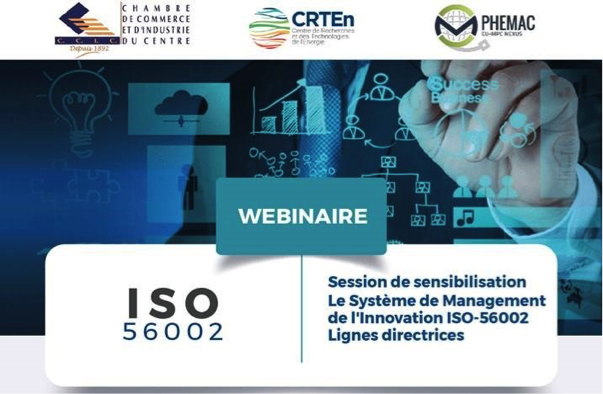 Save the date:  Online Information Session on ISO 56002:2019 Innovation Management – 12 November at 10:00