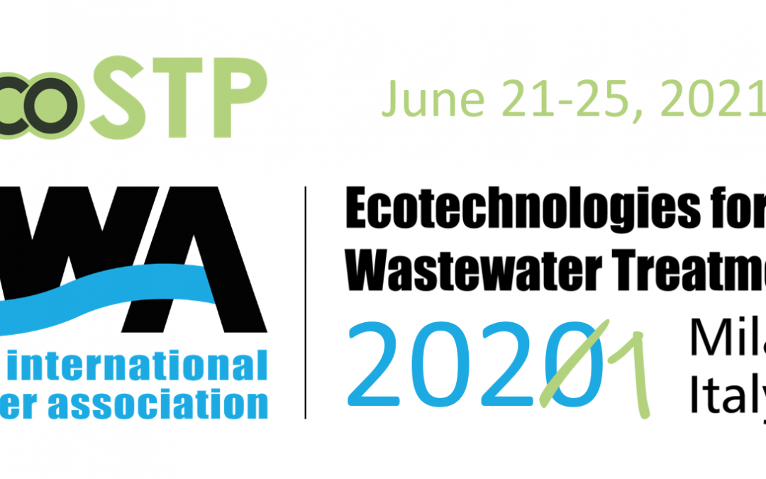 "IWA EcoSTP 2021 ""Impacting the environment with innovation in wastewater treatment"" – 21-25 June 2021"