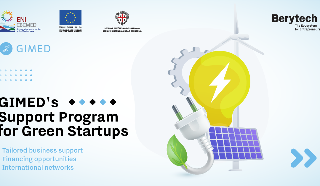 GIMED's Support Program For Green Startups