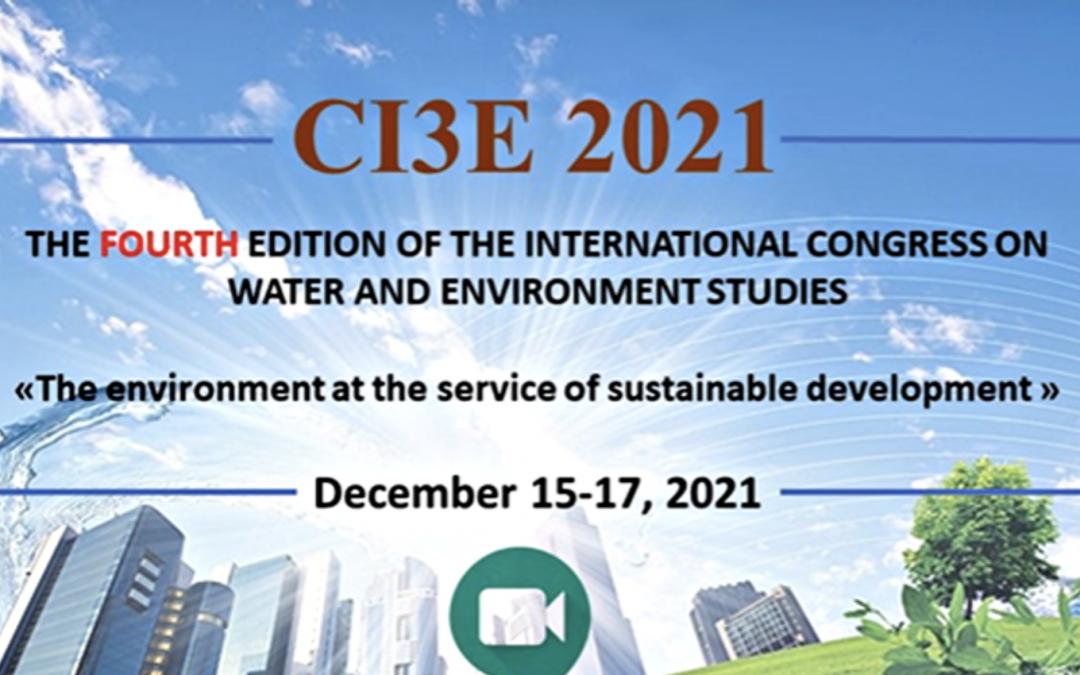 International Congress on Water and Environment Studies – 15-17 December 2021